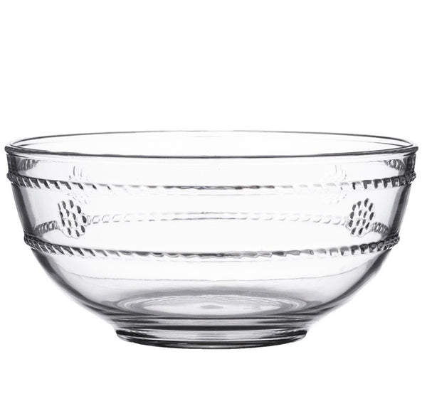 Isabella Clear Acrylic Berry Bowl