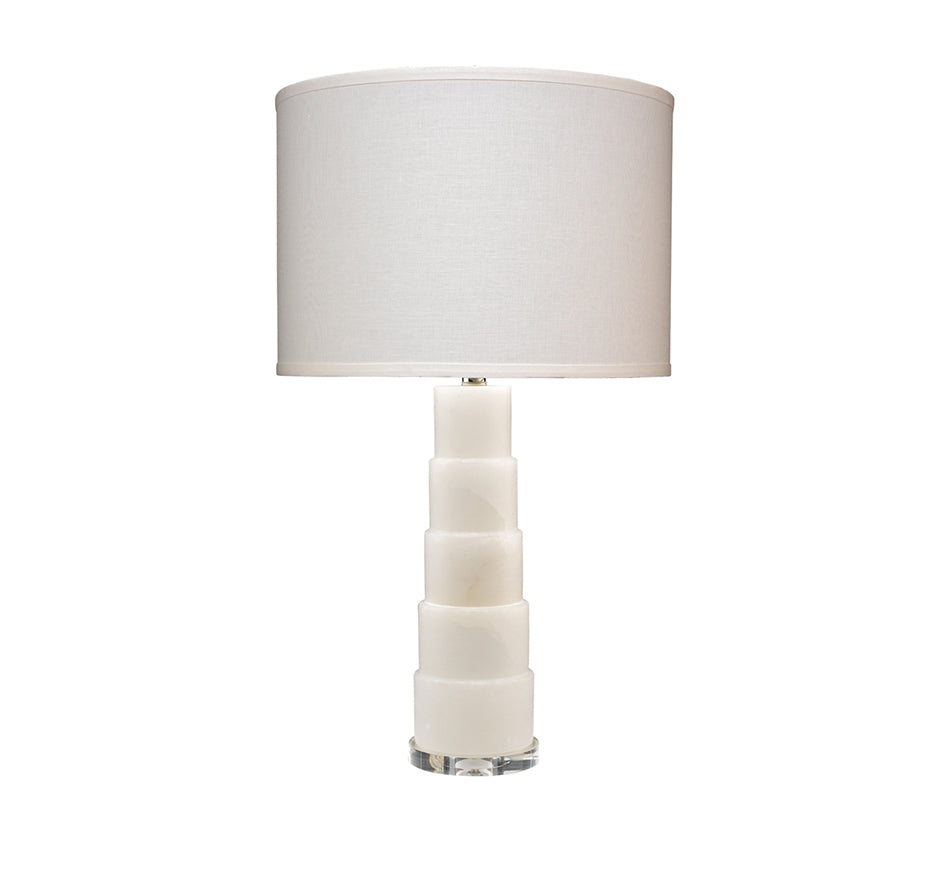 Caspian Table Lamp in Alabaster
