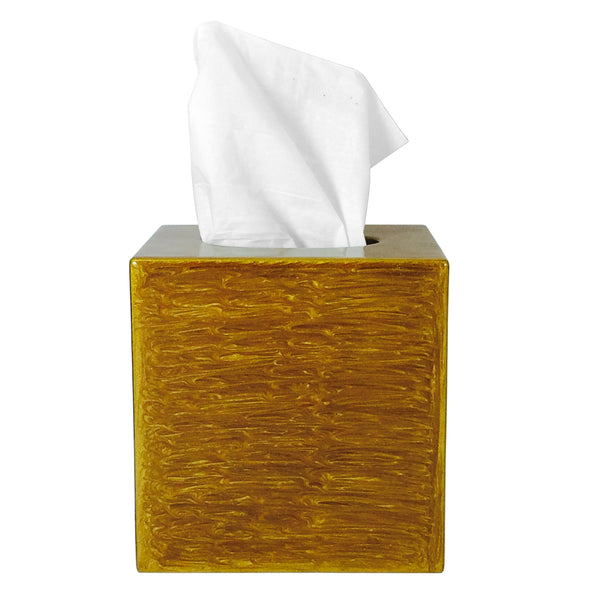 Essentials Shine & Gold Tissue Box