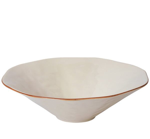 Cantaria Centerpiece Serving Bowl in Ivory