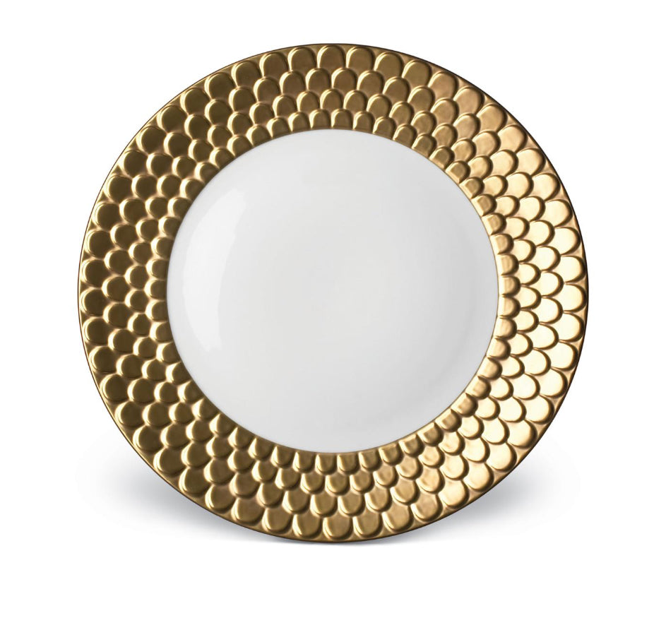Aegean Dinner Collection in Gold