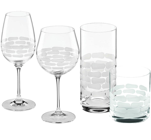 Truro Glass Drinkware Collection in Clear