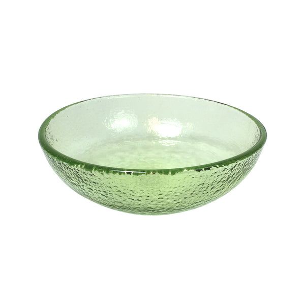 "Recycled Glass Olive 6"" Bowl"