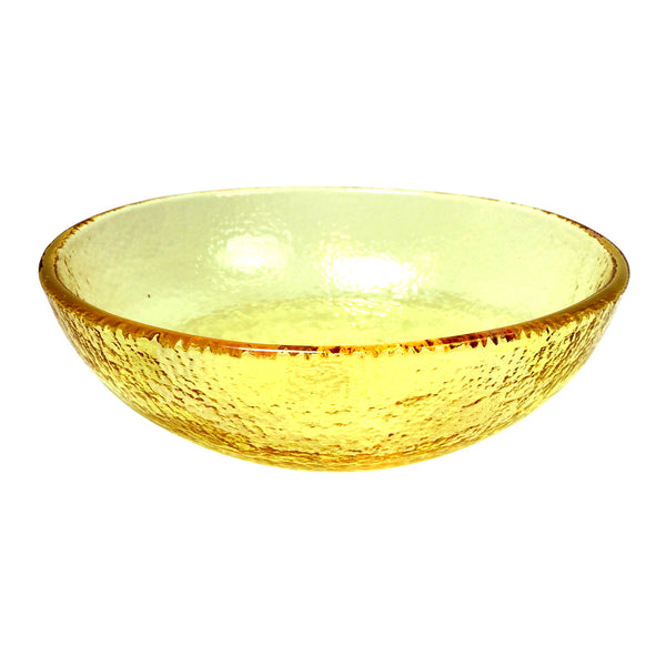 "Recycled Glass Citrus 8"" Bowl"