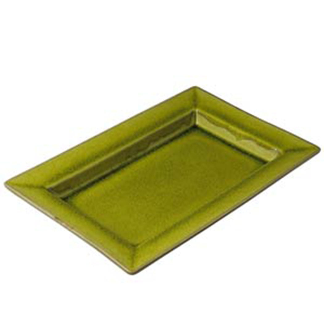 Tourron Rectangle Dish in Avacado