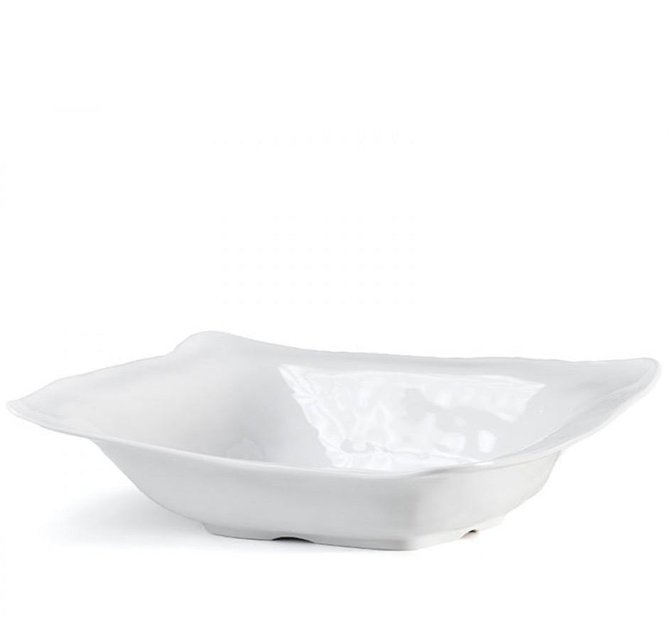 Ruffle Rectangular Shallow Bowl