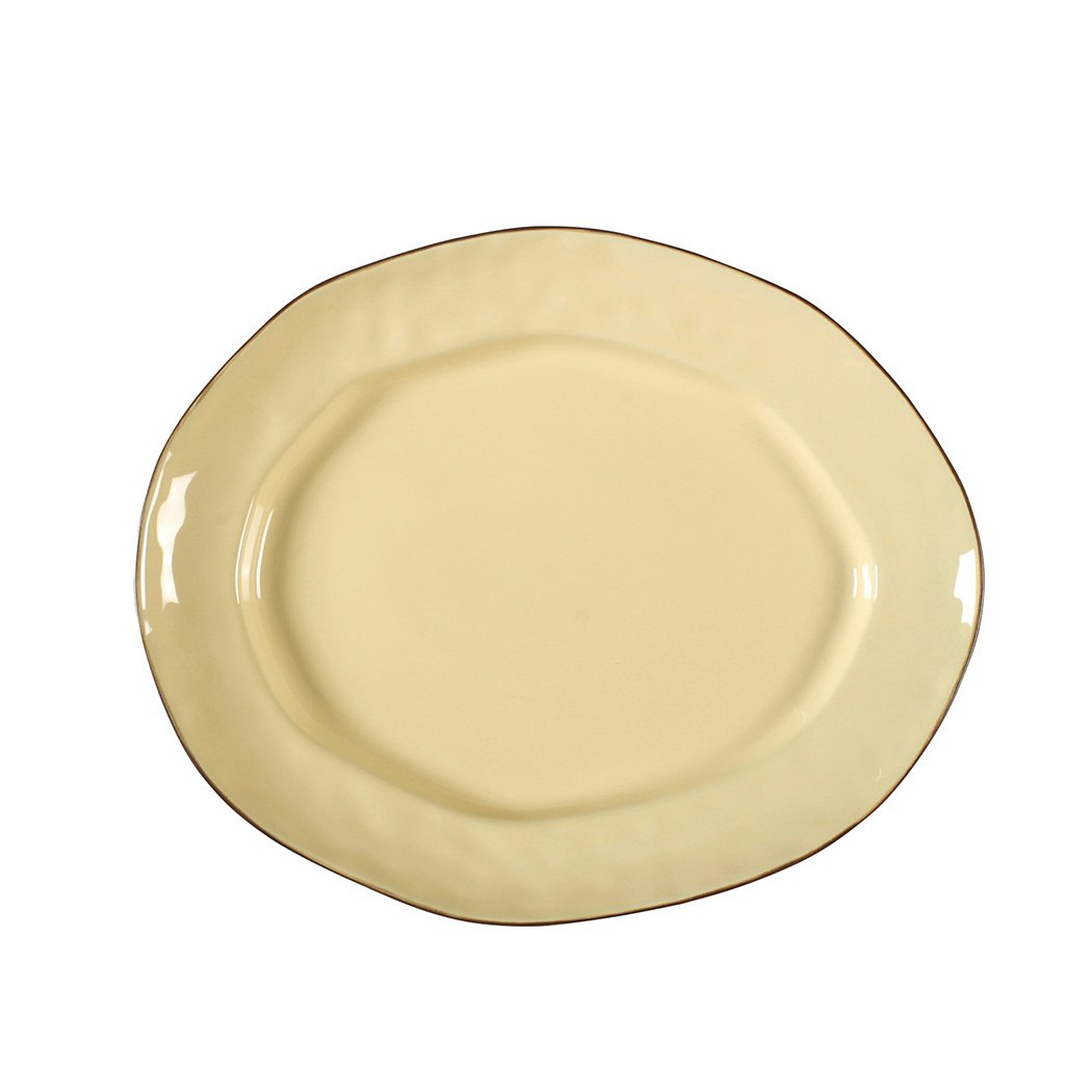 Cantaria Large Oval Serving Platter  (Available in 6 Colors)