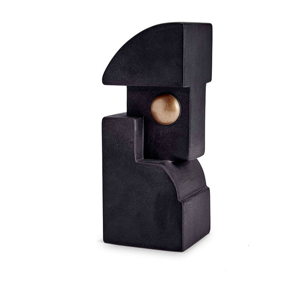 Cubisme Bookend One in Black