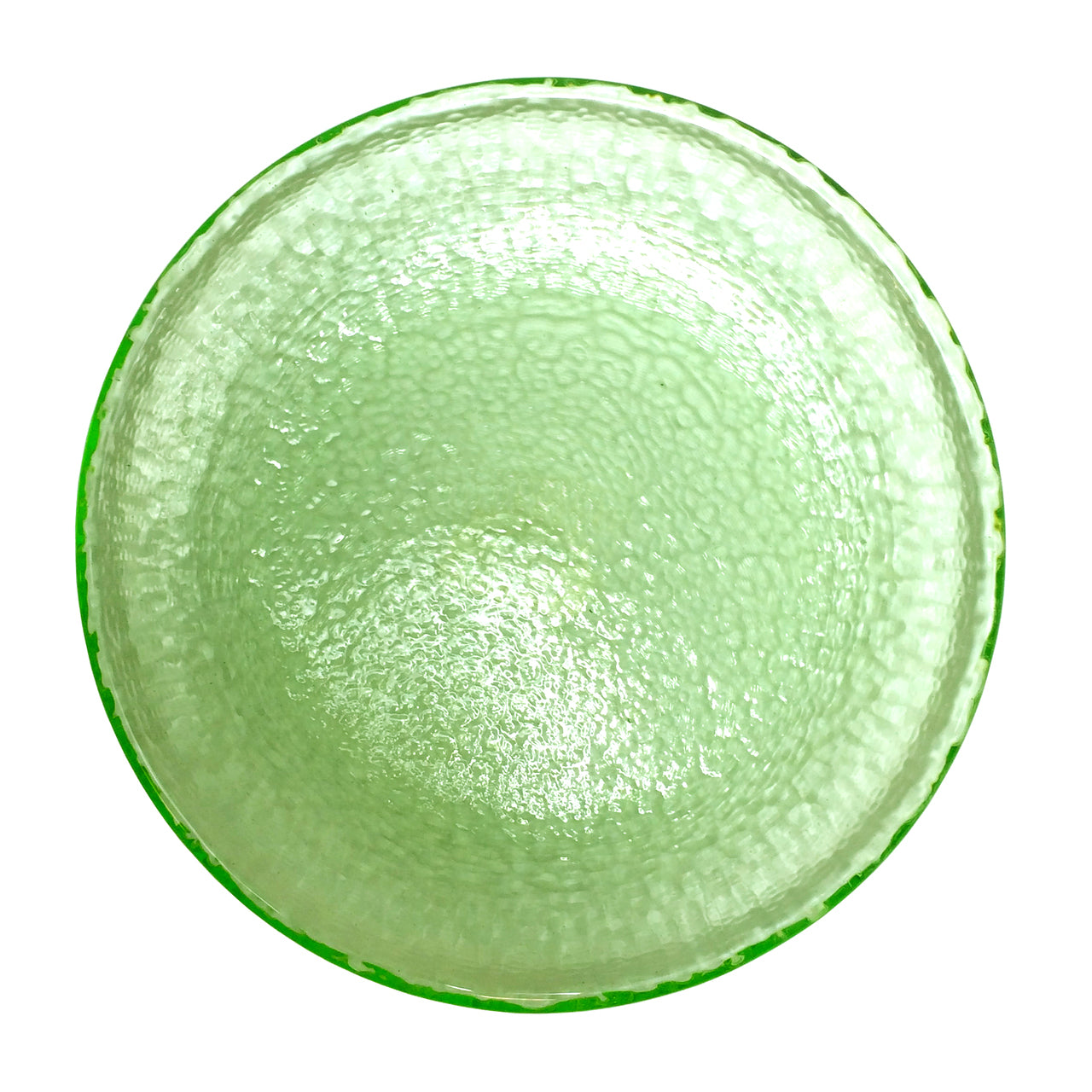 Recycled Glass Celery Dessert/Salad Plate