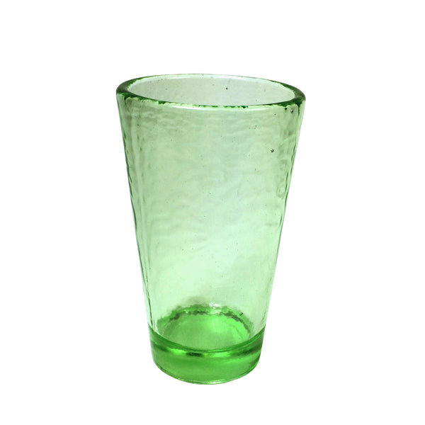 Recycled Glass Celery Large Tumbler