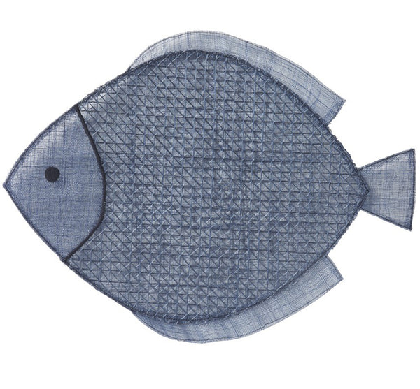 Navy Fish Placemat