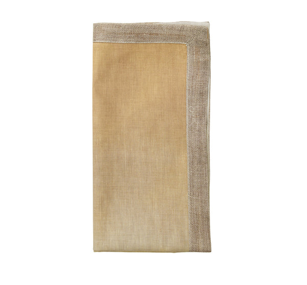 Dip Dye Napkin in Ivory (Set of 4)