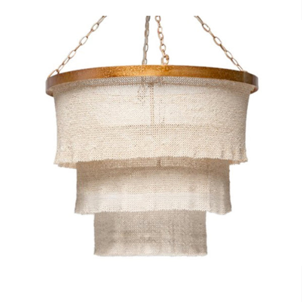Patricia Coco Beads Chandelier in Gold
