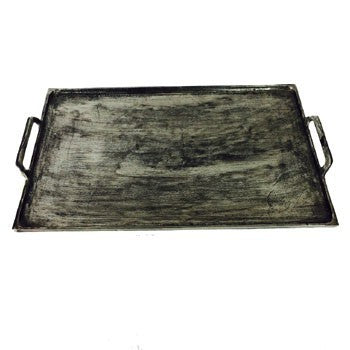 Rectangle Nickel Tray Small