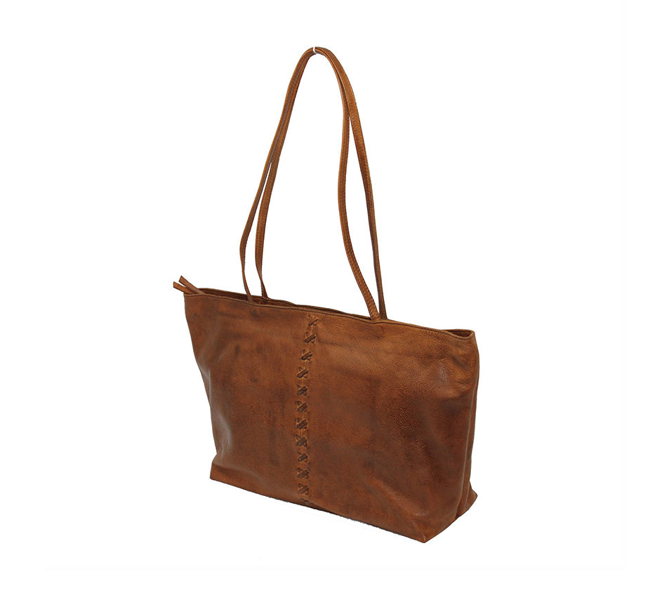 Ex-Marked Tote in Cognac