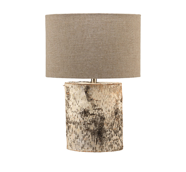 Forester Table Lamp In Birch