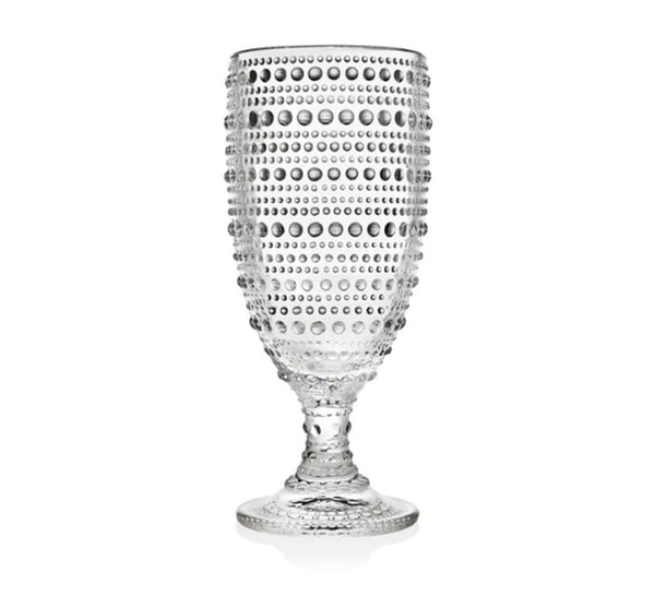 Hobnail Iced Beverage in Clear