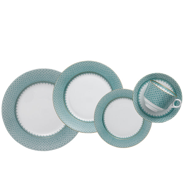 Lace Dinnerware Collection in Green