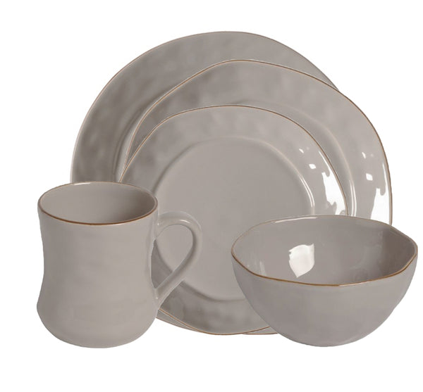 Cantaria Dinnerware Collection in Greige