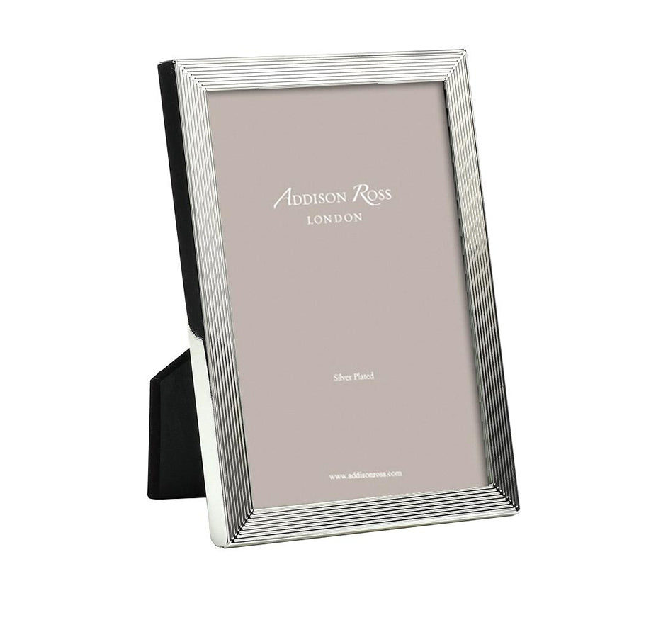 Grooved Silver Frame (Available in 2 Sizes)