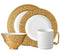 Han Dinnerware Collection in Gold