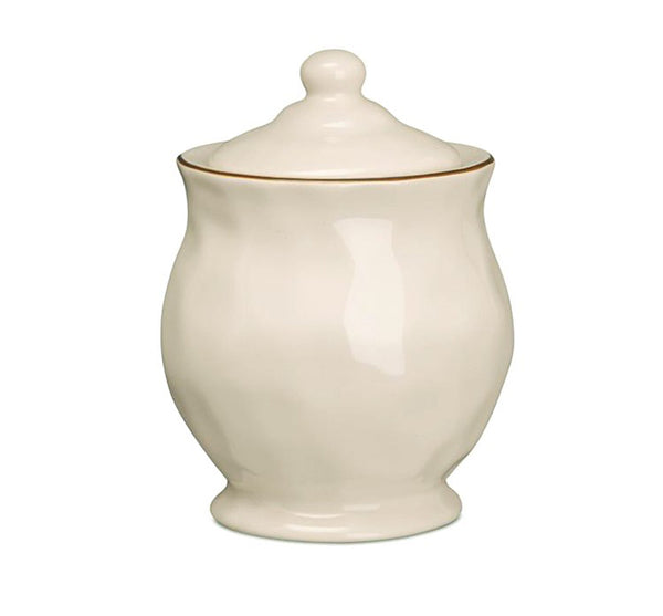 Cantaria Covered Sugar Bowl in Ivory