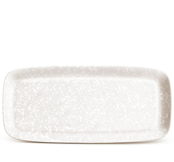 Alchime Rectangle Tray In White (2 sizes available)