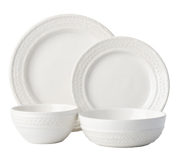 Le Panier Dinnerware Collection In White