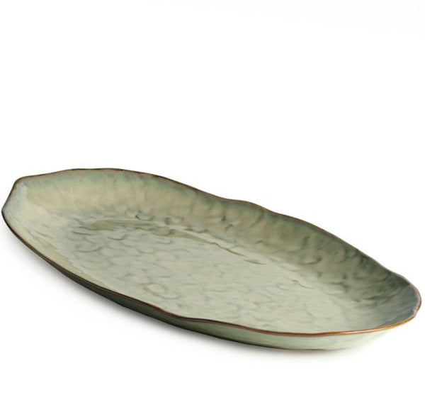 Burlington Oval Platter Large, Moss Glen