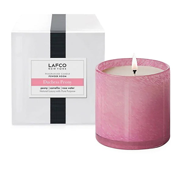 "Duchess Peony ""Powder Room"" Candle"