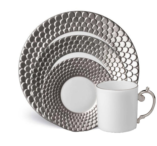Aegean Dinnerware Collection in Platinum