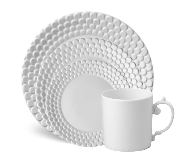 Aegean Dinnerware Collection in White