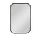 Radius Antiqued Silver Mirror
