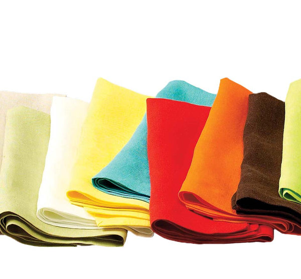 RIVIERA NAPKINS Set of 4 (Available in 25 Colors)