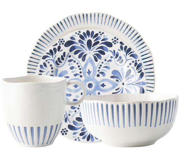 Sitio Dinnerware Collection In Indigo