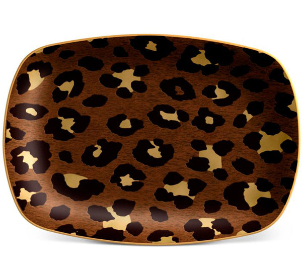 Leopard Small Serving Tray