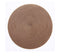 Linen Finish Round Mat Collection Set of 4 (13 colors available)