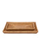 Dalton Bath Collection in Brown Rattan