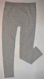 Nevada Grey Heart Knit Leggings
