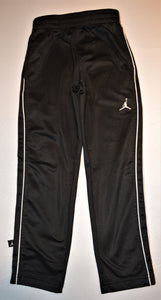 Nike Air Jordan Black with White Racing Stripe Track Pants