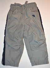 Load image into Gallery viewer, Osh Kosh Grey with Blue Racing Stripe Track Pant