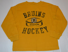 Load image into Gallery viewer, NHL Boston Bruins Hockey Waffle Long-sleeve Shirt