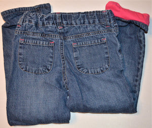 Osh Kosh Jeans with Pink Lining