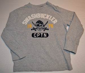 Gymboree Grey Swashbuckler Long-sleeve Shirt