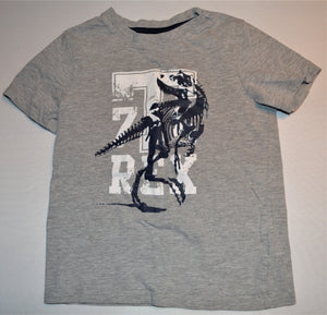 Sears Grey White and Blue T-Rex T-shirt