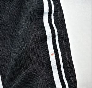 Zara Boys Black with White Racing Stripes Fearless Zip-up Jacket