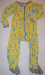 Tuffy Yellow with Blue Numbers Sleeper