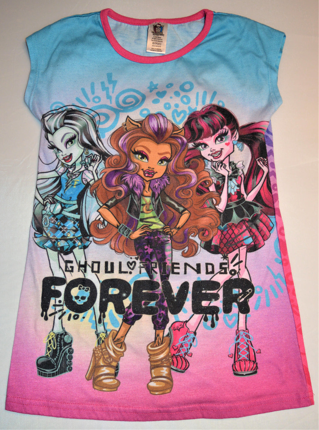 Monster High Ghoul Friends Forever Night Gown