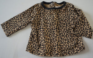 Gymboree Leopard Print Long-sleeve Shirt