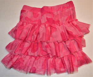 The Children's Place Pink Camo Tulle Skirt